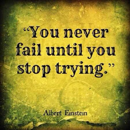 Inspirational Quotes About Failure: The Power Of Positive Thinking And Other Great Hippy Crap